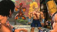 Street Fighter X Tekken - Sagat & Dhalsim's Rival Cutscene English Ver
