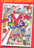 X-Men-VS-Street-Fighter-promo-comical-manga-ChunLi-Ryu-Cyclops-Wolverine