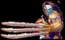 Character select Vega SFIV