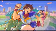 Namboku (Sakura SFA - No continues, 1 straight victory)