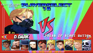 Street Fighter EX plus Alpha Character select