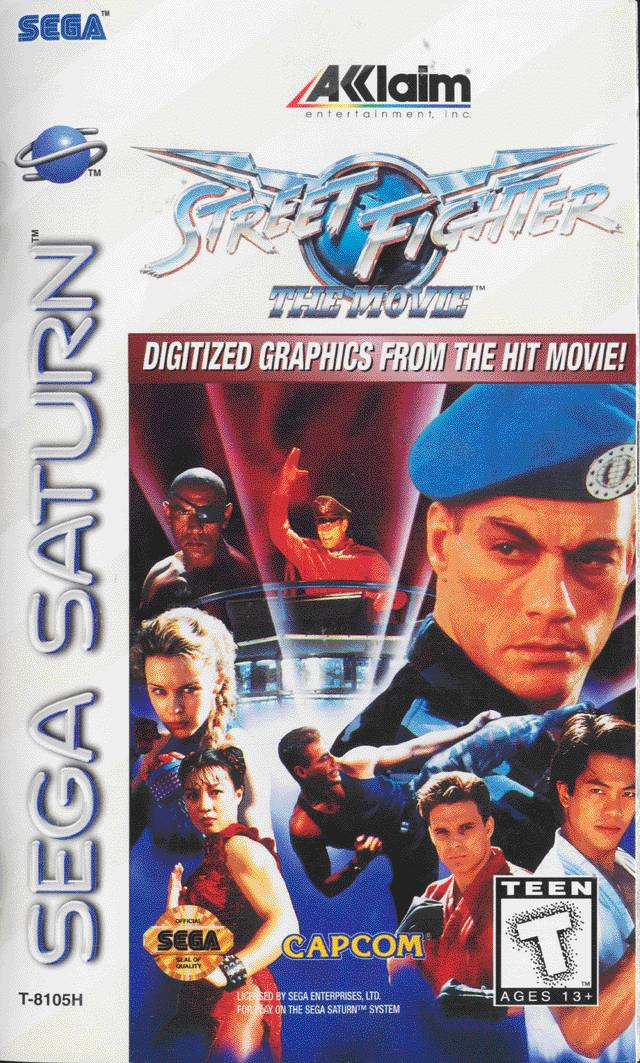 Street Fighter The Movie Home Video Game Street Fighter Wiki