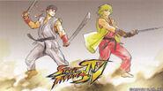Ryu and Ken Wallpaper