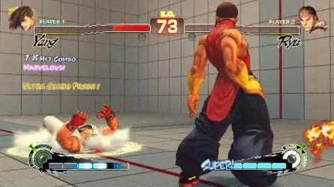 Super Street Fighter 4 AE - Yang Ultra 1