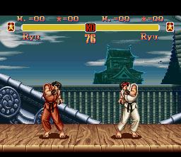 SSF2 SNES Ryu Stage