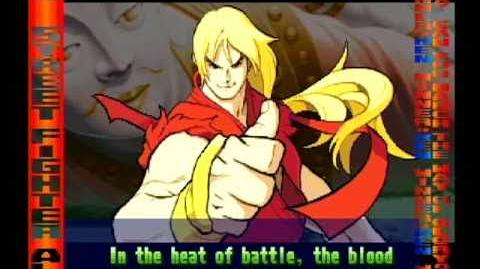 Street Fighter Alpha 3 Ken's Full Storyline and Ending (improved quality)
