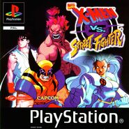 X-Men vs Street Fighter PSX EUR