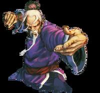 Character select Gen SFIV