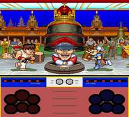 Street Fighter Ken Sei Mogura intro attack ready