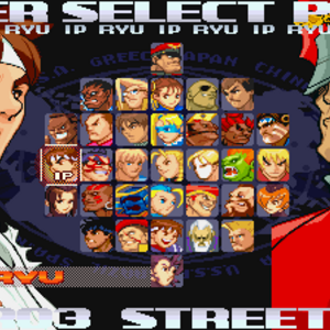 name original street fighter characters