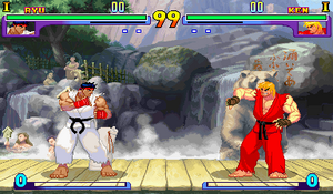 Background Ryu SFIII New Generation & SFIII 2nd Impact stage