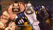 Street Fighter X Tekken - Zangief & Rufus' Rival Cutscene English Ver