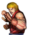 Character select Ken SFIV