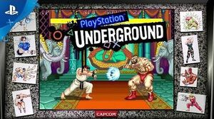 Street Fighter 30th Anniversary Collection Gameplay PlayStation Underground