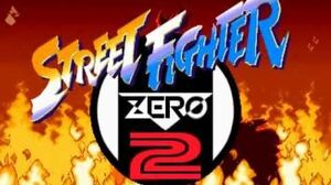 (Demo) ストリートファイターZERO2 Street Fighter Alpha 2 (C)Capcom 1996