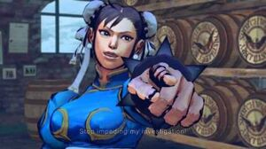 (Super) Street Fighter IV (AE) - Chun-li's Rival Cutscene English Ver