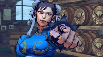 (Super) Street Fighter IV (AE) - Chun-li's Rival Cutscene English Ver. (1080p)