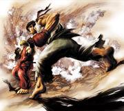 SFIV-Ryu and Ken