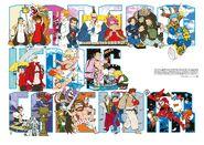 Capcom Heroes Calendar