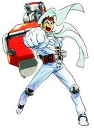 MvCapcom - Clash of Super Heroes - Jin Saotome artwork
