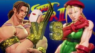 STREET FIGHTER V AE Fighting Chance and Arcade Mode SF2 Path Vega With His Classic Costume