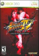 Street Fighter IV Collecors Edition (X360 - cubierta América del Norte)