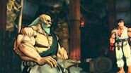 (Super) Street Fighter IV (AE) - Gouken's Rival Cutscene English Ver