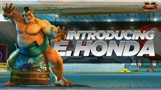 SFV Character Introduction Series – E. Honda