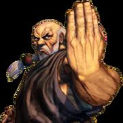 Character select Gouken SFIV