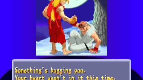 Street Fighter Alpha 2 - Ken Ending