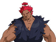 Akuma age 23. One notable abscense... His beads!