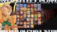 SFA3 Max character select screen