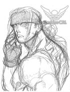 Alex-sf3-3rdstrike-bust-sketch