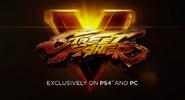 SFV logo PS4 PC exclusively