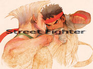 Street Fighter 15th Anniversary poster-1