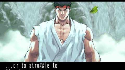Street Fighter III 3rd Strike Ryu Ending