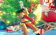 SFV Laura's Christmas Costume