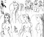 Cammy-lots-o-sketches