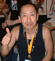 Daigo Ikeno thumbs up