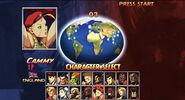 SSFII Turbo HD Remix character select