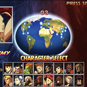 Character Select Street Fighter Wiki Fandom