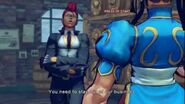 (Super) Street Fighter IV (AE) - C.Viper's Rival Cutscene English Ver