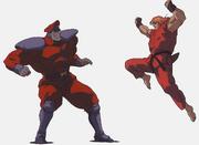 SFIIM-M. Bison vs Ken