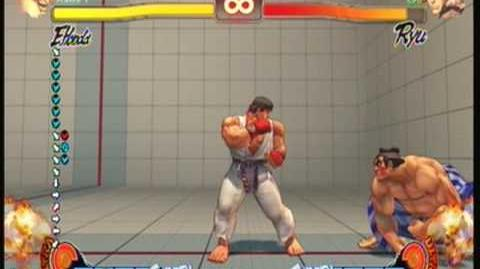 Street Fighter 4 EHonda - Super Killer Head Ram
