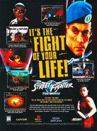 Street Fighter The Movie - Volante propagandístico