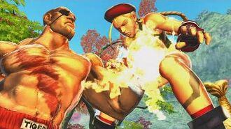 Street Fighter X Tekken - All Character Throws & Super Cross Arts
