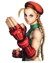 Character select Cammy SFIV