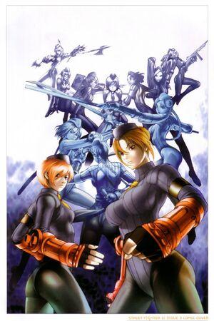 Dolls artwork - Street Fighter II 3 B UDON comic - alt cover