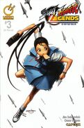 Street Fighter Legends - Ibuki 3 A UDON comic - cover