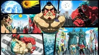 STREET FIGHTER V AE - E.Honda All Arcade Mode Endings Ft. Dolls, Hakan